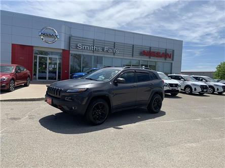 2017 Jeep Cherokee Trailhawk (Stk: 21-255A) in Smiths Falls - Image 1 of 17