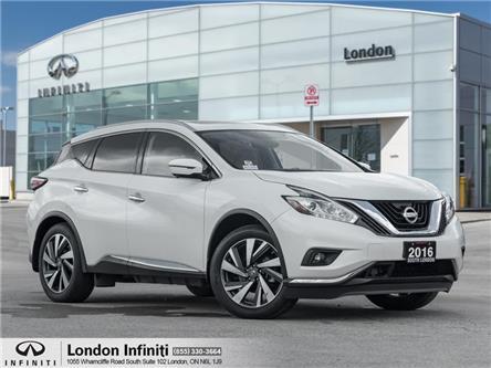 2016 Nissan Murano Platinum (Stk: E21015-1) in London - Image 1 of 24