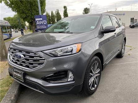2021 Ford Edge Titanium (Stk: 216810) in Vancouver - Image 1 of 10