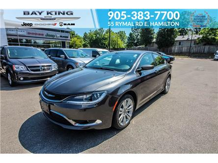 2016 Chrysler 200 Limited (Stk: 217596A) in Hamilton - Image 1 of 21