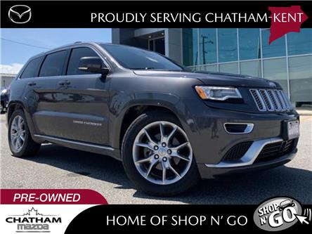 2016 Jeep Grand Cherokee Summit (Stk: UM2590) in Chatham - Image 1 of 29