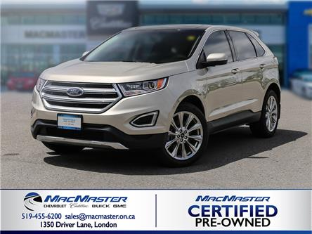 2017 Ford Edge Titanium (Stk: 210311A) in London - Image 1 of 9