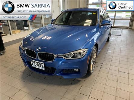 2017 BMW 330i xDrive (Stk: BU873) in Sarnia - Image 1 of 10