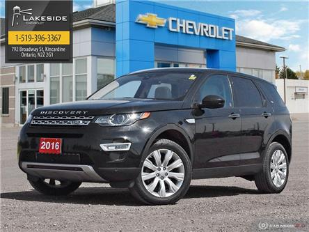 2016 Land Rover Discovery Sport HSE LUXURY (Stk: P6282) in Kincardine - Image 1 of 29