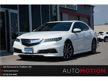 2016 Acura TLX Tech (Stk: 21945) in Chatham - Image 1 of 26