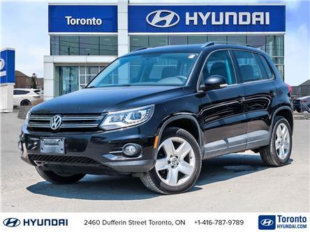 2014 Volkswagen Tiguan Highline (Stk: U07178) in Toronto - Image 1 of 27