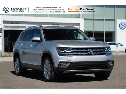 2019 Volkswagen Atlas 3.6 FSI Execline (Stk: U6723) in Calgary - Image 1 of 45