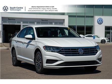 2021 Volkswagen Jetta Comfortline (Stk: 10295) in Calgary - Image 1 of 33