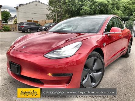 2020 Tesla Model 3 Standard Range (Stk: 780008) in Ottawa - Image 1 of 26