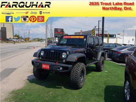 2015 Jeep Wrangler Unlimited Rubicon (Stk: 21207A) in North Bay - Image 1 of 30