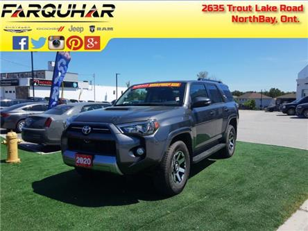 2020 Toyota 4Runner Base (Stk: 21200A) in North Bay - Image 1 of 30