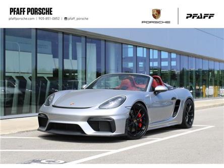 2020 Porsche 718 Spyder  (Stk: U9751) in Vaughan - Image 1 of 30