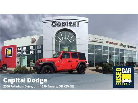 2020 Jeep Wrangler Unlimited Sport (Stk: M00292A) in Kanata - Image 1 of 23