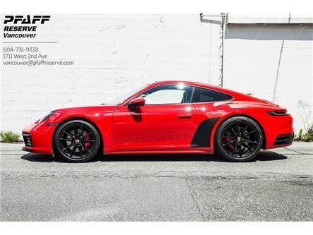 2020 Porsche 911 Carrera 4S (Stk: VU0608A) in Vancouver - Image 1 of 14