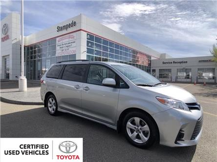 2020 Toyota Sienna LE 8-Passenger (Stk: ) in Calgary - Image 1 of 2