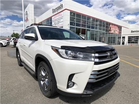 2018 Toyota Highlander Limited (Stk: ) in Calgary - Image 1 of 2