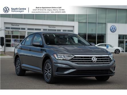 2021 Volkswagen Jetta Comfortline (Stk: 10296) in Calgary - Image 1 of 34