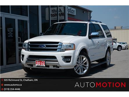 2016 Ford Expedition Platinum (Stk: 211085) in Chatham - Image 1 of 29