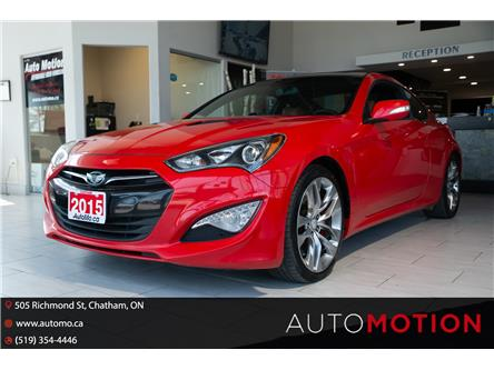 2015 Hyundai Genesis Coupe  (Stk: T21631) in Chatham - Image 1 of 21