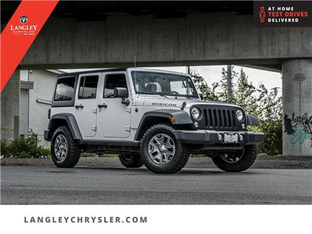 2015 Jeep Wrangler Unlimited Rubicon (Stk: LC0767A) in Surrey - Image 1 of 27