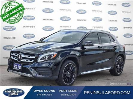 2018 Mercedes-Benz GLA 250 Base (Stk: 21LI28A) in Owen Sound - Image 1 of 25