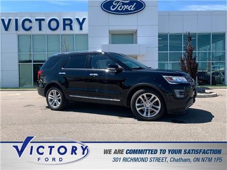 2017 Ford Explorer Limited (Stk: V19951A) in Chatham - Image 1 of 28