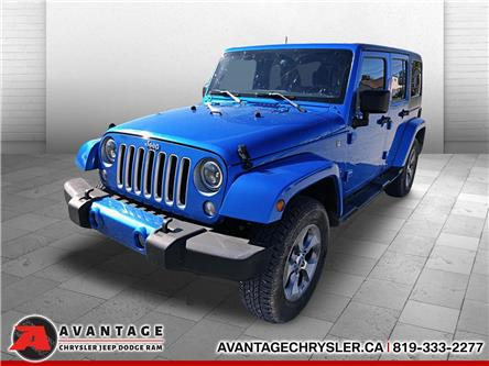 2016 Jeep Wrangler Unlimited Sahara (Stk: 0969) in La Sarre - Image 1 of 17