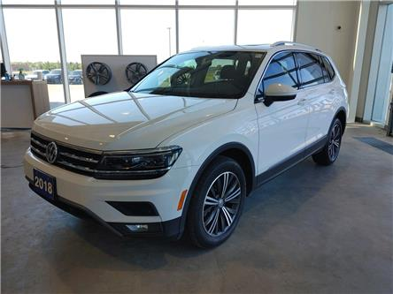 2018 Volkswagen Tiguan Highline (Stk: TI21034A) in Sault Ste. Marie - Image 1 of 19