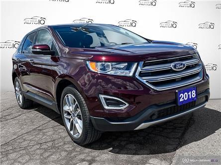 2018 Ford Edge Titanium (Stk: 1307AX) in St. Thomas - Image 1 of 30