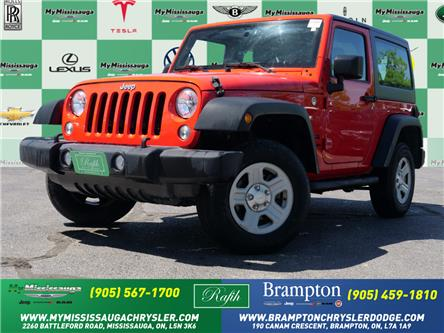 2015 Jeep Wrangler Sport (Stk: 21380A) in Mississauga - Image 1 of 20