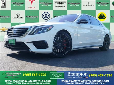 2015 Mercedes-Benz S-Class Base (Stk: 1542) in Mississauga - Image 1 of 30