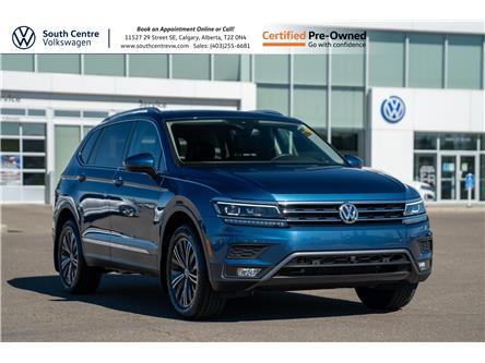 2019 Volkswagen Tiguan Highline (Stk: U6755) in Calgary - Image 1 of 43