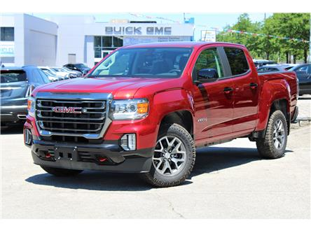 2021 GMC Canyon AT4 w/Cloth (Stk: 3145459) in Toronto - Image 1 of 34