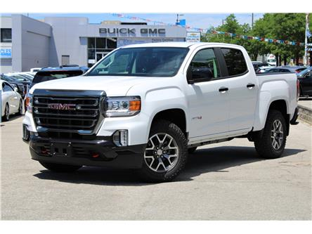 2021 GMC Canyon AT4 w/Cloth (Stk: 3143683) in Toronto - Image 1 of 32