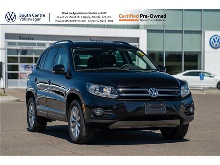 2017 Volkswagen Tiguan Wolfsburg Edition (Stk: U6733) in Calgary - Image 1 of 35