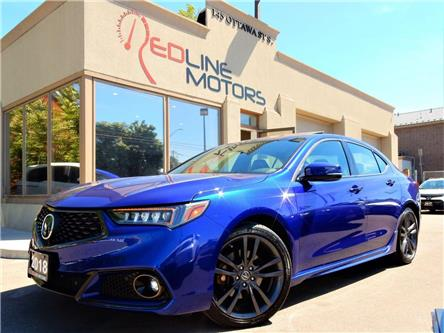 2018 Acura TLX Tech A-Spec (Stk: 19UUB3) in Kitchener - Image 1 of 24