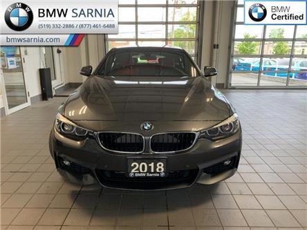 2018 BMW 430i xDrive Gran Coupe (Stk: BU899) in Sarnia - Image 1 of 10