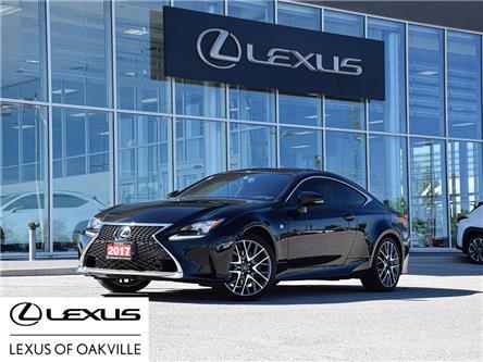 2017 Lexus RC 350 Base (Stk: UC8200) in Oakville - Image 1 of 25