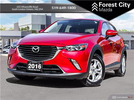 2016 Mazda CX-3 GS (Stk: PD0107A) in London - Image 1 of 33