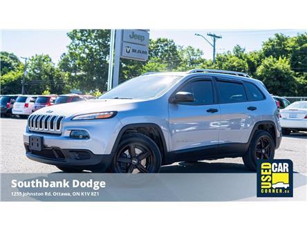 2015 Jeep Cherokee Sport (Stk: 9230961) in OTTAWA - Image 1 of 22
