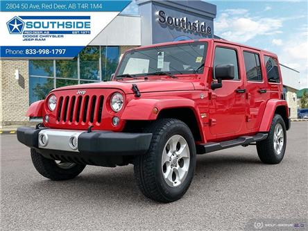 2015 Jeep Wrangler Unlimited Sahara (Stk: 14677A) in Red Deer - Image 1 of 25