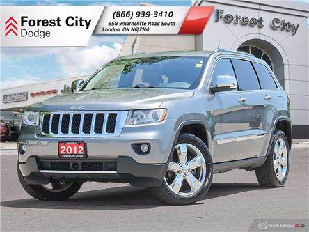 2012 Jeep Grand Cherokee Overland (Stk: 21-7026A) in London - Image 1 of 35
