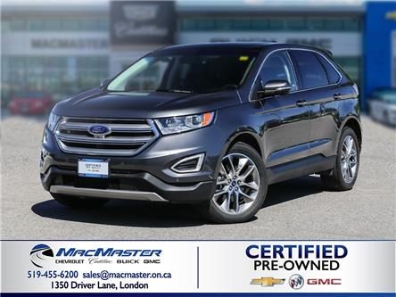 2017 Ford Edge Titanium (Stk: 210451A) in London - Image 1 of 10