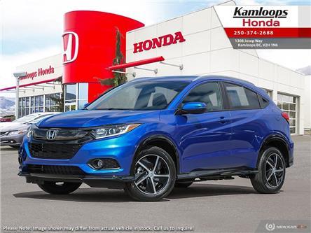 2021 Honda HR-V Sport (Stk: N15356) in Kamloops - Image 1 of 23