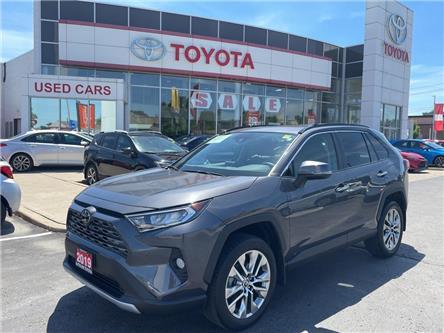 2019 Toyota RAV4 Limited (Stk: U3677) in Niagara Falls - Image 1 of 28
