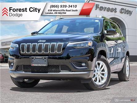 2019 Jeep Cherokee North (Stk: 9-8125) in London - Image 1 of 35