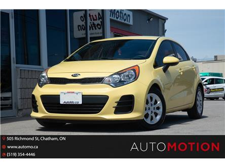 2016 Kia Rio  (Stk: T21801) in Chatham - Image 1 of 19