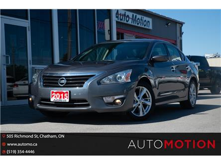 2015 Nissan Altima  (Stk: 21963) in Chatham - Image 1 of 25