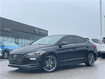 2018 Hyundai Elantra Sport Tech (Stk: 37464A) in Brampton - Image 1 of 29