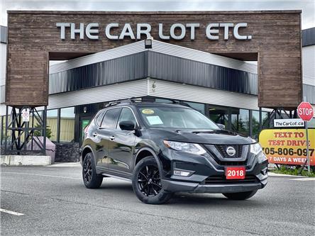 2018 Nissan Rogue Midnight Edition (Stk: 21296) in Sudbury - Image 1 of 30